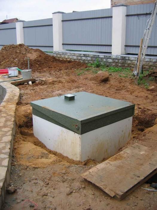 Организация автономной канализации на участке