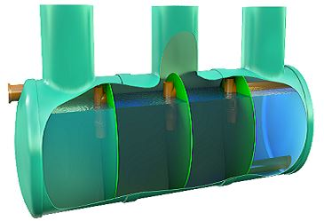 септик с био фильтром 2 метра кубических