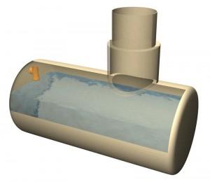 Металлические емкости для сбора канализационных стоков