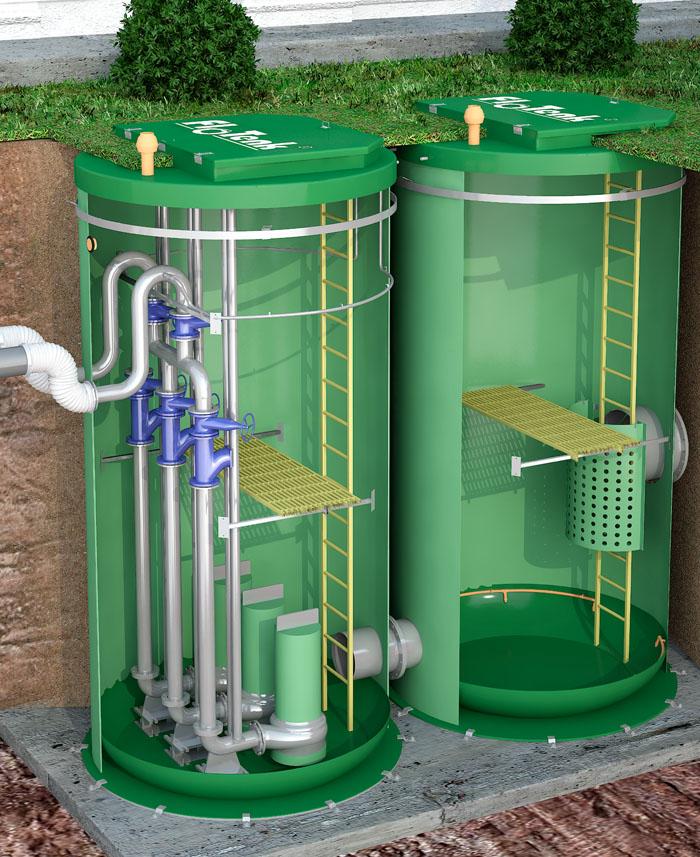 Промышленные канализационные насосные станции